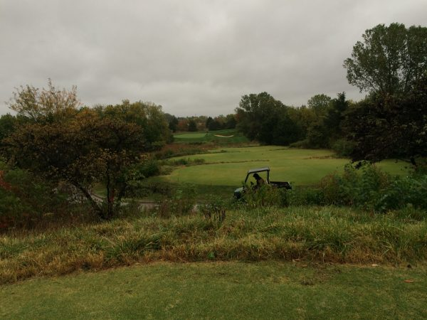 View from black tees on #4 before the project started.